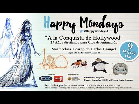 Happy Mondays 4 ⎪MASTERCLASS de Carlos Grangel