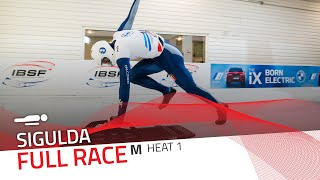 Sigulda | BMW IBSF World Cup 2020/2021 - Men's Skeleton Heat 1 | IBSF Official