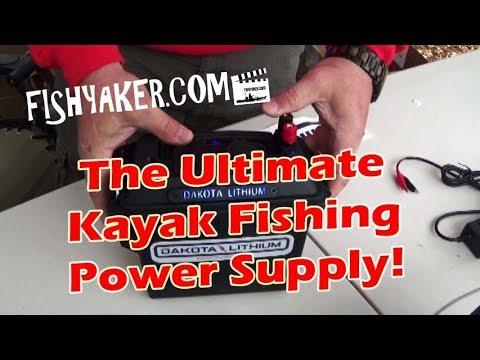 The Ultimate Kayak Fishing Power Supply! - Dakota Lithium Batteries and Power Box