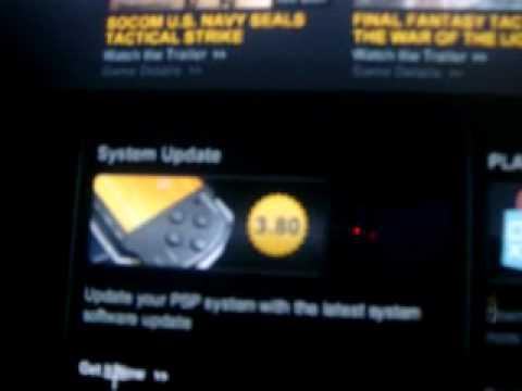 How To Update Your Psp Firmware