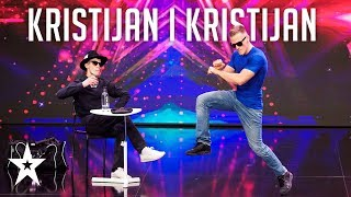 Kristijan and Kristijan, the BREAKDANCE duo│Supertalent 2019│Auditions
