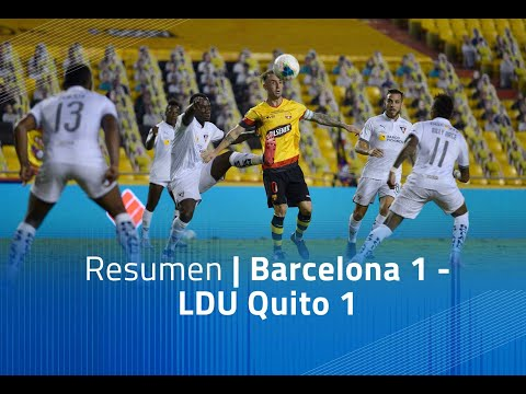 Barcelona SC LDU Quito Goals And Highlights