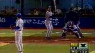 横浜スタジアム 2003/5/9 三者連続ホームラン 浜中おさむ9号・片岡篤史4...
