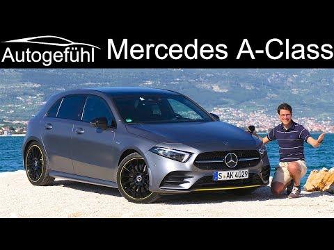 Mercedes A-Class FULL REVIEW all-new 2019 AClass A250 A-Klasse - Autogefühl