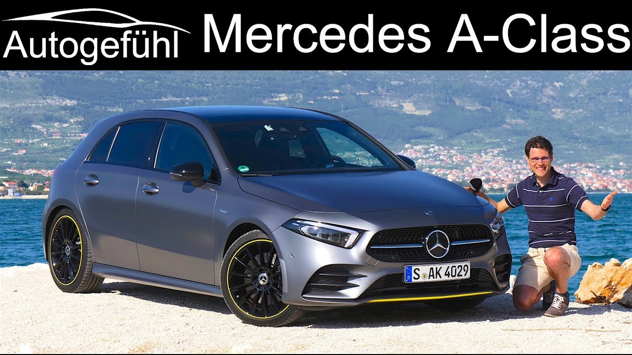 Mercedes A Class Full Review All New 2019 Aclass A250 Amg Line A Klasse Autogefuhl