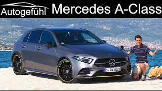 Mercedes A-Class FULL REVIEW all-new 2019 AClass A250 AMG Line A-Klasse - Autogefühl