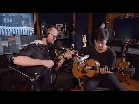 Как записывать акустическую гитару // Илья Лукашев х ИМИ
