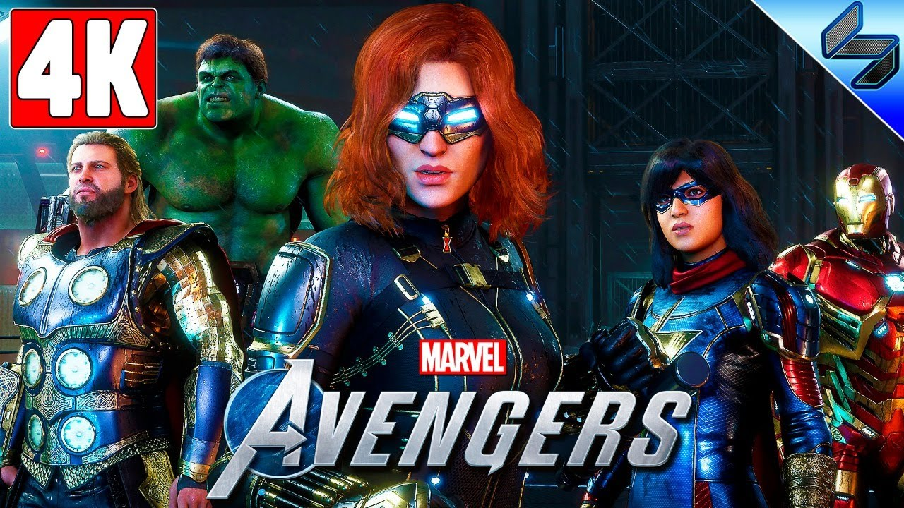Прохождение Marvel's Avengers Beta ➤ Геймплей Бета Теста Мстители Марвел ➤ Обзор Игры ➤ 4K