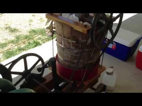 W5UFO's motor driven ice cream maker