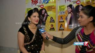 Sunny Leone on performing live in Chennai | Super Housefull | News7 Tamil
