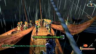 VIKING CONQUEST - Storm SFX Update : TEST STORM AT SEA