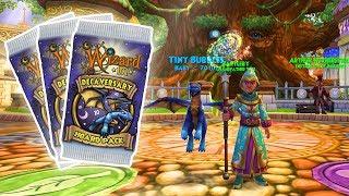 wizard101 hoard packs gear