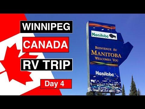 Manitoba Trans Canada Highway RV Trip 2019