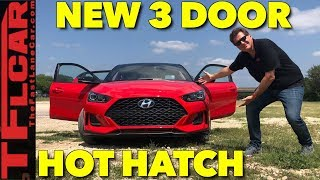 Top 10 Things You Need to Know About the New 2019 Hyundai Veloster смотреть