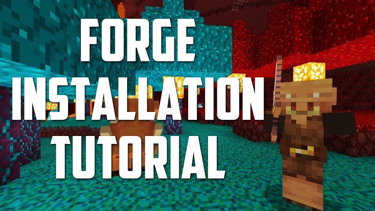 How to DOWNLOAD and INSTALL FORGE for Minecraft 11.111
