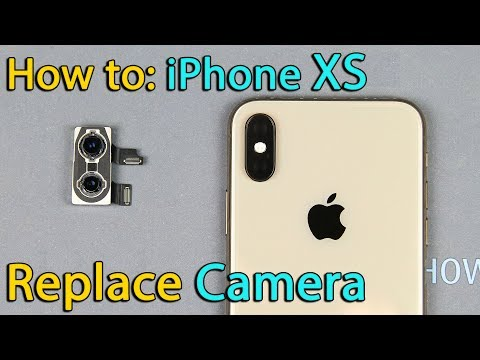 iPhone XS camera replacement
