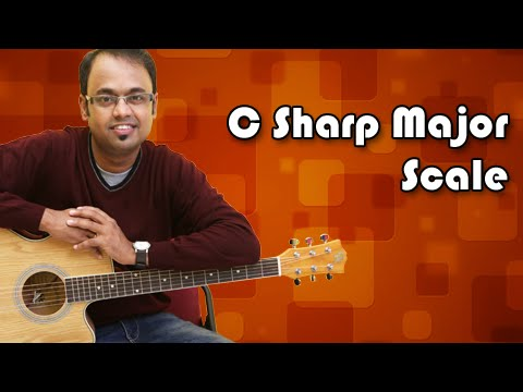 How To Play - C Sharp Major Scale / D Flat - Guitar Lesson For Beginners