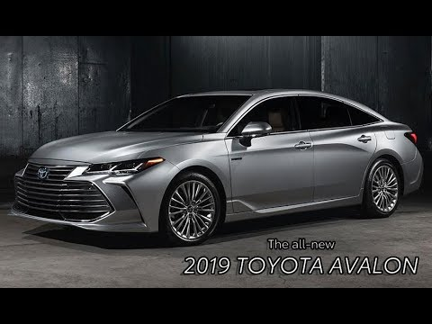 The New Toyota Avalon 2019 Comfort Style And Innovation