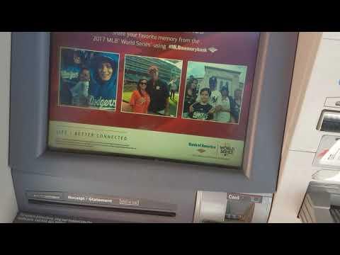 Đi Rút Tiền Từ Máy ATM Ở Nhà Bank Của Mỹ