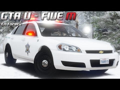 GTA 5 - Law Enforcement Live - En forêt ! (Five M)
