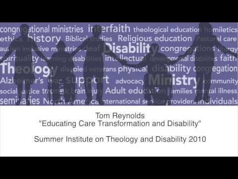 Educating Care Transformation and Disability