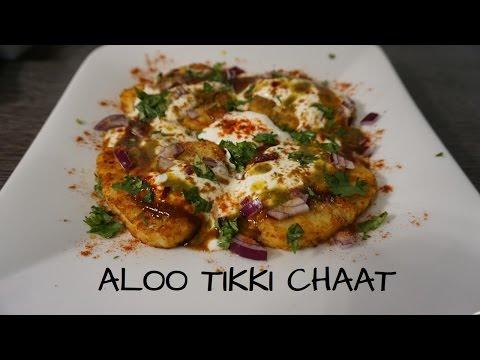 aloo-tikki-chaat-mit-rösti-💚🥔indischer-snack---indian-streetfood