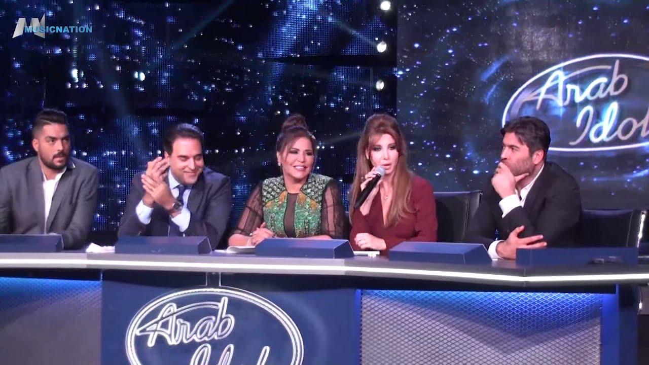 آراب ايدول الموسم الثالث المؤتمر الصحفي