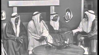 لقاء مرشد البذال الرشيدي مع النذير غريب الجسار الرشيدي و مذكر القوبع الرشيدي سنة 1964 كامل