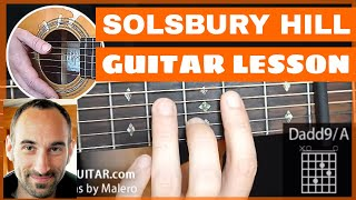 Solsbury Hill Guitar Lesson - part 1 of 4
