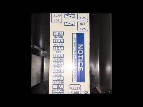 Fuse box avanza Harga Fuse Box Avanza on