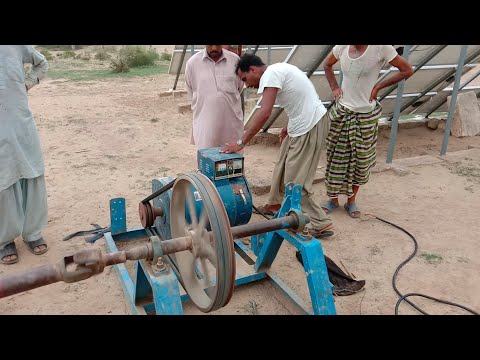 Villagers Pumping Water From 300 feet With Direct Generator | Agriculture In Punjab