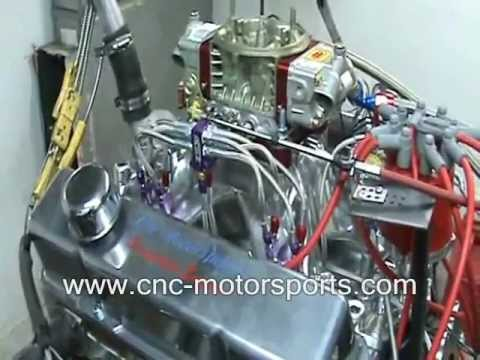 SB Chevy 427 Stroker Nitrous Engine1005 Horsepower