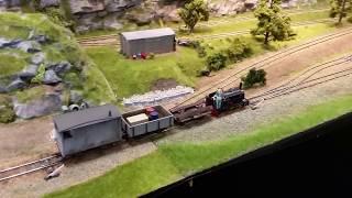 Sutton Coldfield Model Railway Exhibition 29th April 2018 - Narrow Gauge