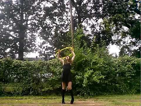 MELANIE MARTINEZ  TRAINING WHEELS hoop dance