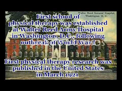 history of physiotherapy