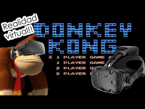 Donkey Kong en VR!!