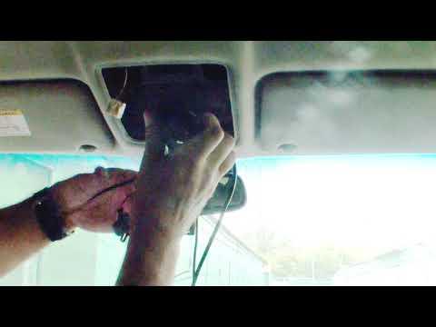 Установка видео регистратора Mio MiVue 788 в Тойота Камри XV30 (ACV30L)