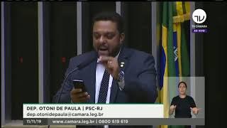 Dep. Otoni faz alerta sobre presença da guerrilha no Brasil e acusa Lula por incitação ao crime