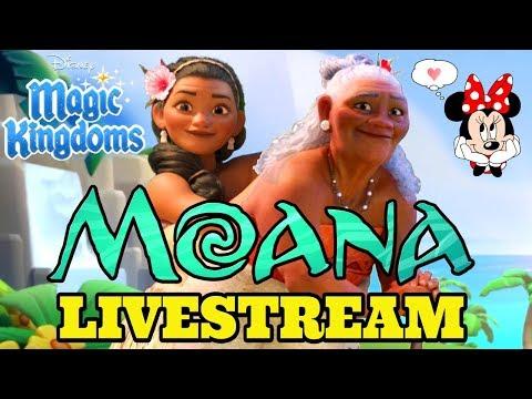 Disney Girl LIVESTREAM 🌴  MOANA EVENT BEGINS + WELCOME SINA & GRAMMA TALA 🌴 Disney Magic Kingdoms