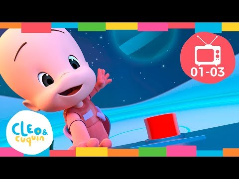 CLEO & CUQUIN - EPISODE COLLECTION (Ep1- 3) Full Episodes. Nick Jr I Cartoon For Children
