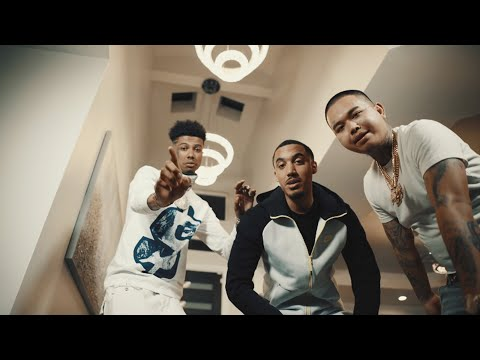 Screen shot of Stupid Young Blueface and Mike Sherm Suppose To music video