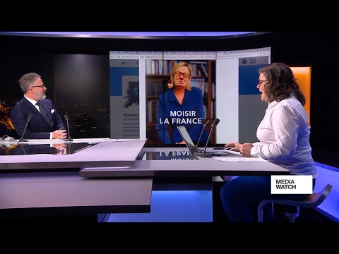 French presidential election: Posters and political spin
