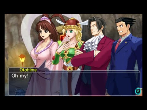 "Project X Zone 2 : Chapter 31 - ""Turnabout Dance"", Courtroom Showdown"