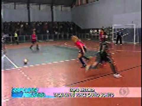 Copa Record: Taquarivaí vence Capão Bonito