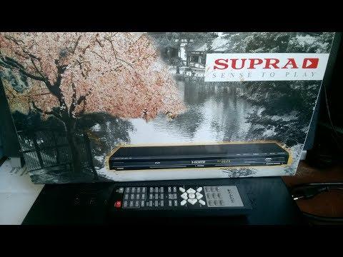 Экспресс-обзор Японского😀 DVD-проигрывателя  с HDMI, USB, SD/MMC/MS - SUPRA  SDP-18 за 15$