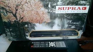 Экспресс-обзор Японского???? DVD-проигрывателя  с HDMI, USB, SD/MMC/MS - SUPRA  SDP-18 за 15$