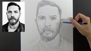 How to Draw with Augmented Reality: Tom Hardy