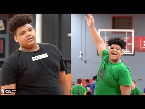 6'9 330 POUND Sophomore!?! Wisconsin Bred Miles Graham Has GAME!