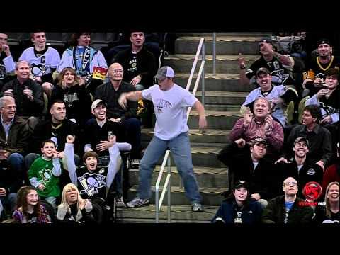 Pittsburgh dancing fan