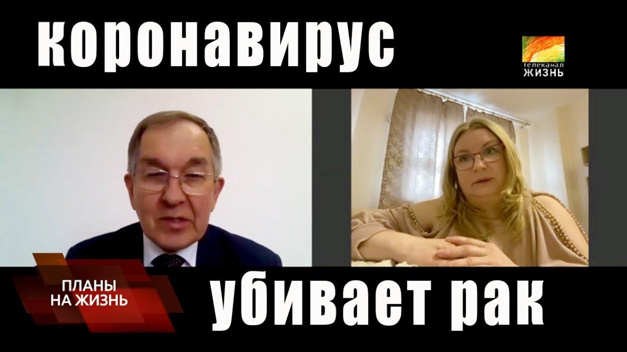 Академик Сергей Нетёсов - о природе коронавируса и о вирусах, исцеляющих от рака
